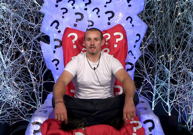 Ryan in the diary room for Day 8's task