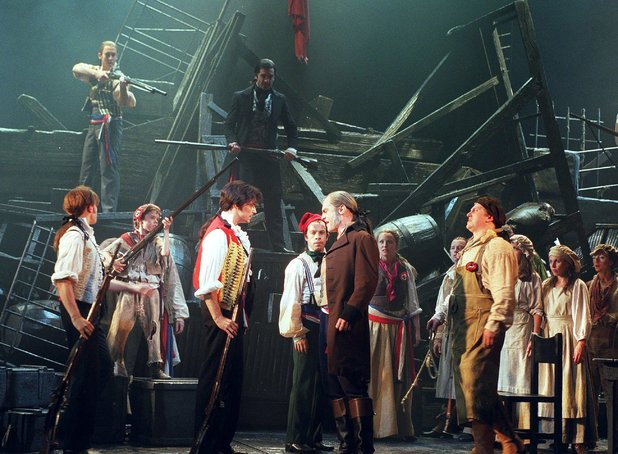 Les Miserables theatre