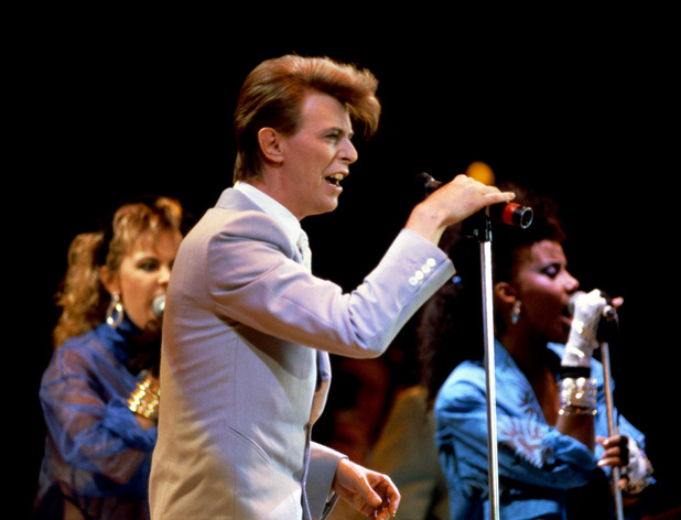 David Bowie at Live Aid, 1985