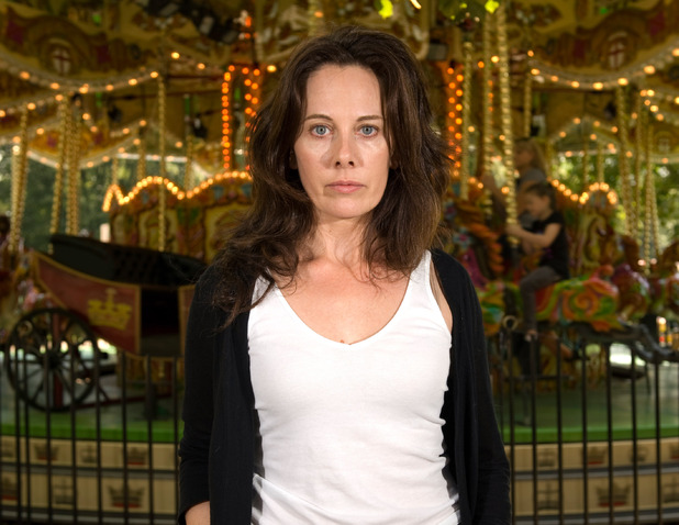 Actress and 'Fifty Shades of Grey' screenwriter Kelly Marcel photographed in Hyde Park, August 2011