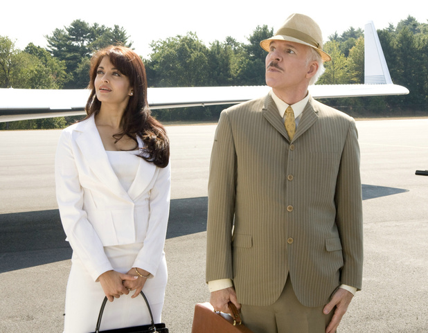 Steve Martin and Aishwarya Rai Bachchan in Pink Panther 2