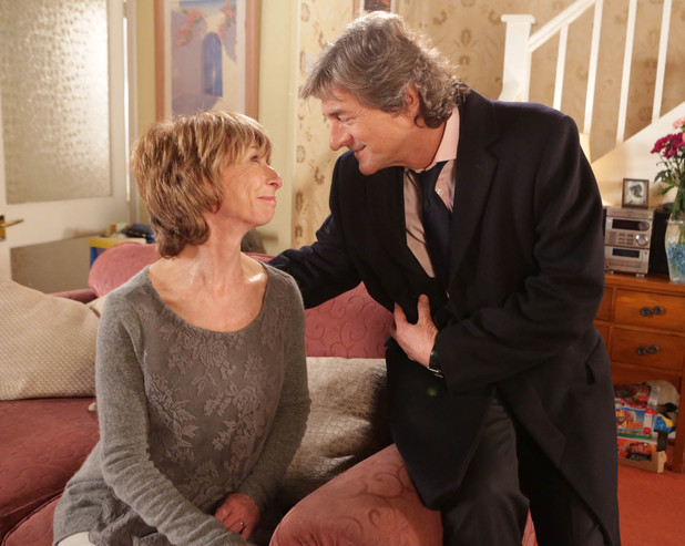 8045: Gail's stunned when Lewis tells her he loves her and he'd like her to move to Naples with him where they could run a small boutique hotel