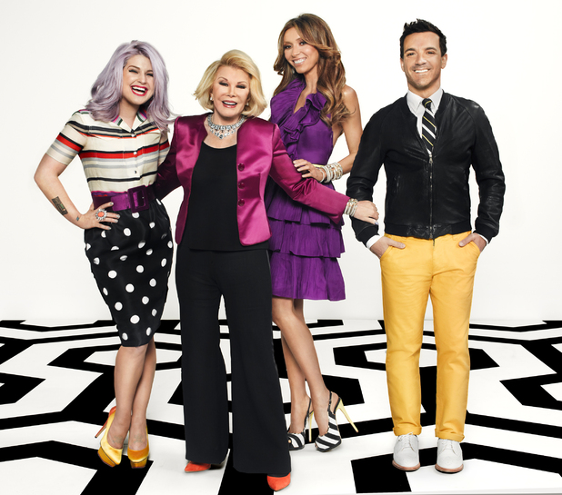 E! Fashion Police hosts George Kotsiopoulos, Joan Rivers, Giuliana Rancic and Kelly Osbourne