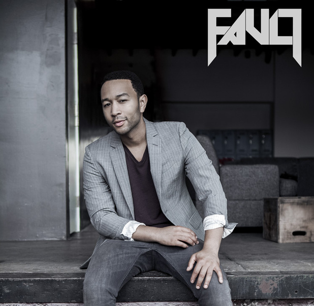 John Legend in 'Fault' magazine.