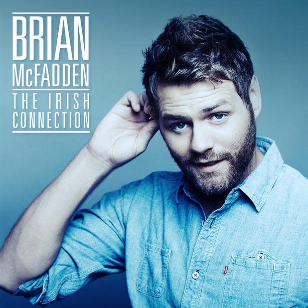 Brian McFadden 'The Irish Connection' album artwork.