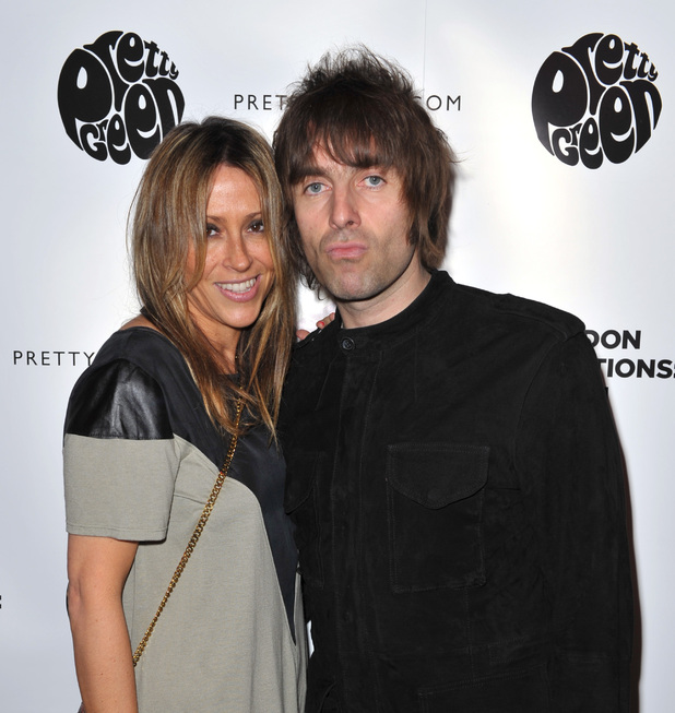 Nicole Appleton, Liam Gallagher, Liam Gallagher's 'Pretty Green London Collections: Men's Autumn/Winter 2013 Launch