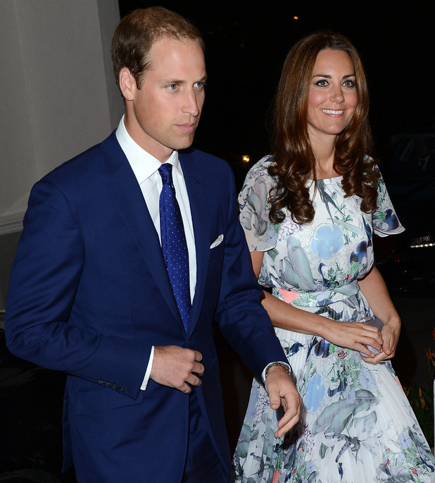 Catherine, Duchess of Cambridge aka Kate Middleton and Prince William, Duke of Cambridge attend an evening reception hosted by the High Commissioner in Singapore Singapore - 13.09.12