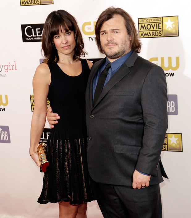 Tanya Haden and Jack Black 