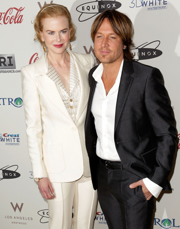 Nicole Kidman and Keith Urban at the 'Gold Meets Golden' event.