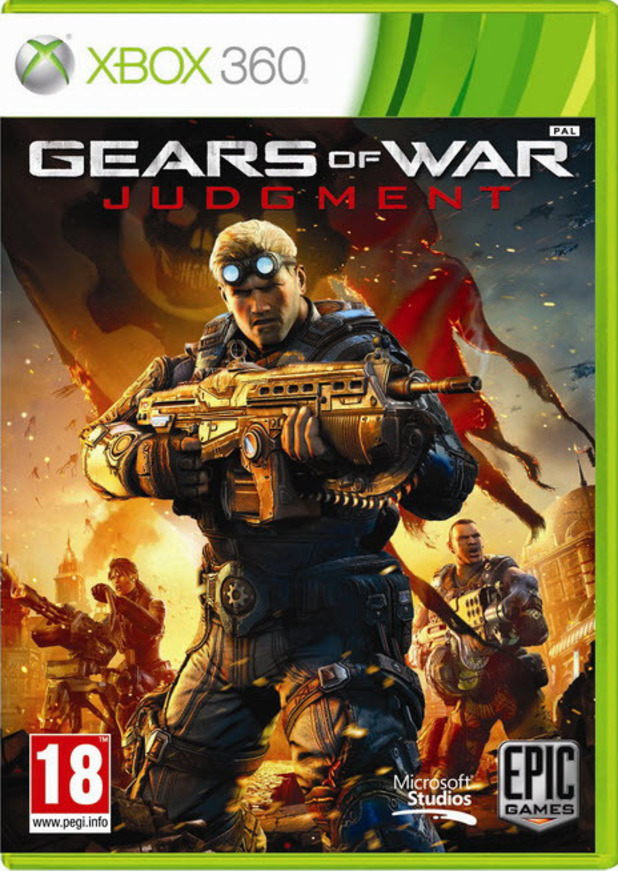Gears of War: Judgement box art