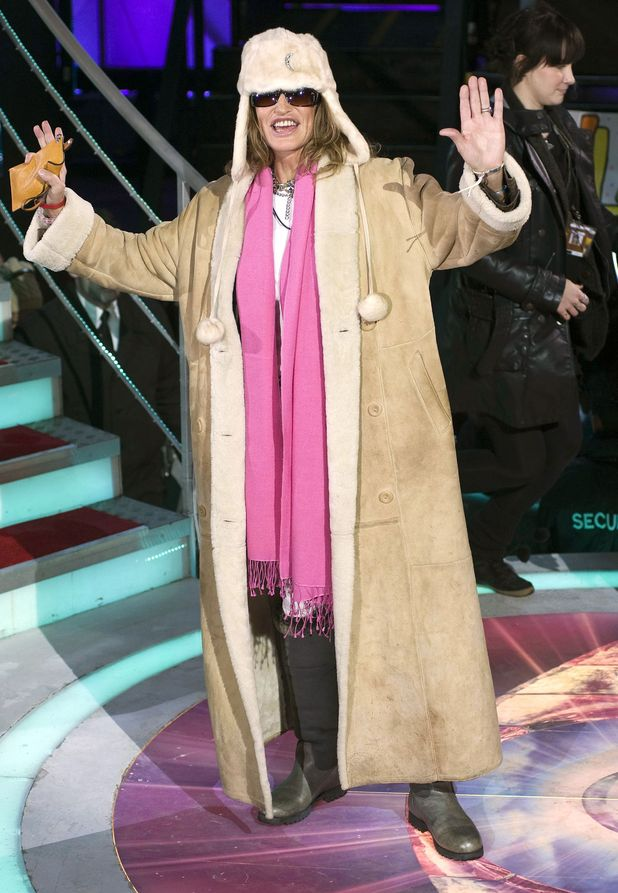 Paula Hamilton after her exit from the Celebrity Big Brother house
