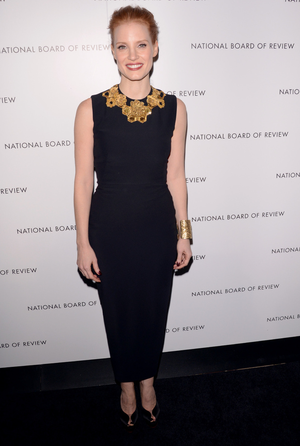 The 2013 National Board of Review Awards Gala - Arrivals Featuring: Jessica Chastain Where: New York City, United States When: 08 Jan 2013