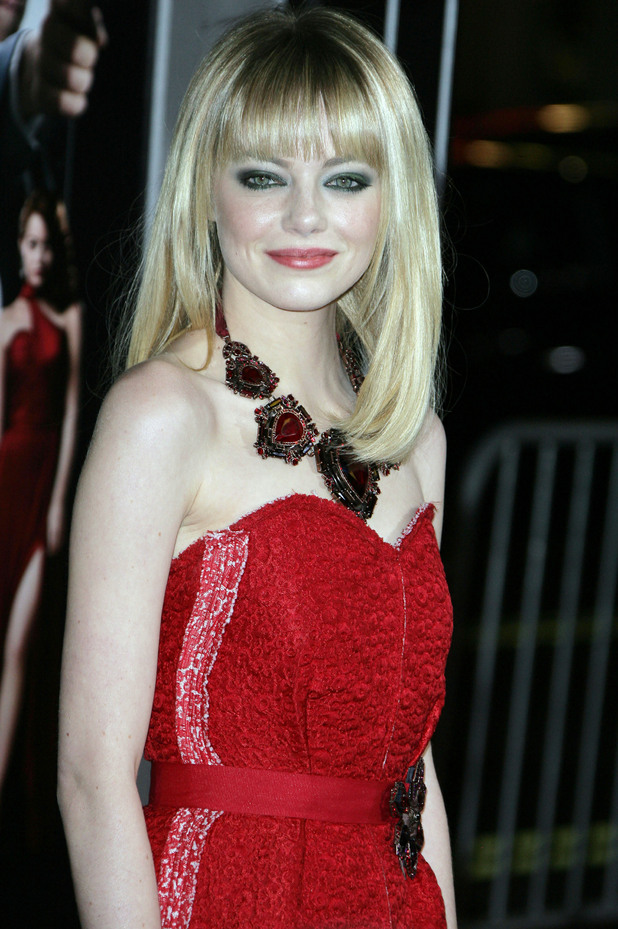 The Los Angeles World Premiere of 'Gangster Squad' held at Grauman's Chinese Theater - Arrivals Featuring: Emma Stone Where: Hollywood, California, United States When: 07 Jan 2013
