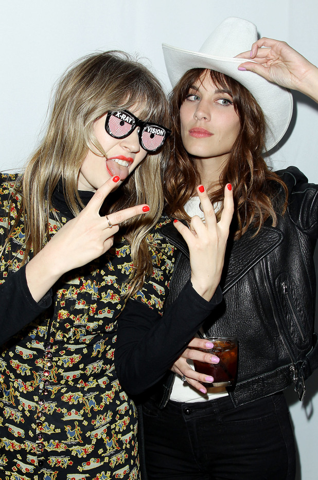 Tennessee Thomas and Alexa Chung