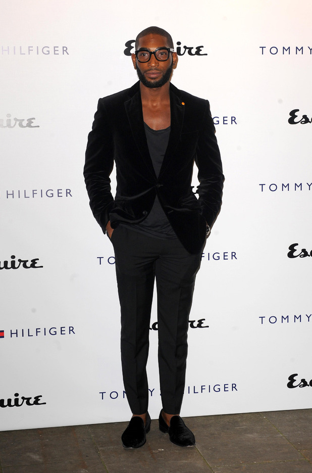 attends the Tommy Hilfiger and Esquire fashion party at the Zetter Townhouse, London, Tinie Tempah