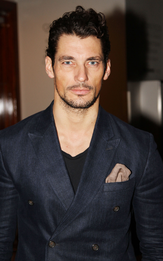 David Gandy, Harvey Nichols Autumn/Winter 2013 preview