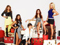 The Saturdays' reality show photoshoot