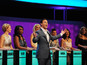 'Take Me Out' contestant falls - video