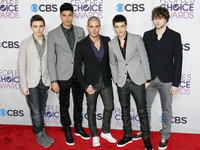 The Peoples Choice Awards 2013 held at Nokia Theatre L.A. Live  - Red Carpet Arrivals: The Wanted