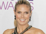 39th Annual People's Choice Awards at Nokia Theatre L.A. Live - Red carpet arrivals: Heidi Klum