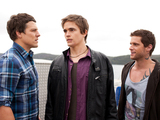 Brax and Heath keep Kyle in Summer Bay.