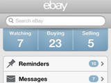 eBay app sreenshot