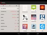 'Press (Google Reader)' screenshot