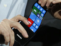 Firm demos flexible phone running Windows Phone 8 and one with curved display.