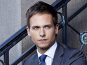 Suits star Patrick J Adams will play Zoe Saldana's husband in the miniseries.