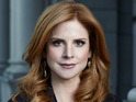 Sarah Rafferty on Donna's feelings for Harvey and a big season two twist.
