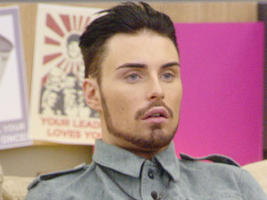 Day 13: Rylan after hearing that all the make up will be taken away