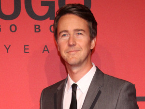 Edward Norton, MBFW Autumn/Winter 2013 - Hugo By Hugo Boss arrivals/front row at Buehnenwerkstaetten Zinnowitzer Strasse