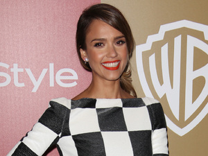 Jessica Alba, 70th Annual Golden Globe Awards, Warner Bros and InStyle Party, Los Angeles