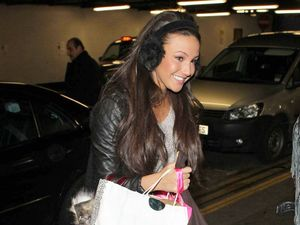 Miss Mode: Michelle Keegan at Euston