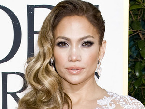 Jennifer Lopez arriving at the 70th Annual Golden Globe Awards 2013 in Los Angeles