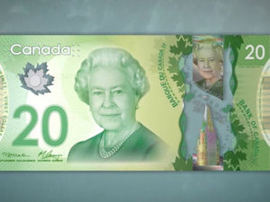 Canadian Bank Note $20