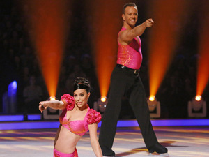 Dancing on Ice: Beth Tweddle and Daniel Whiston