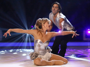 Dancing on Ice: Anthea Turner and Andy Buchanan