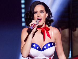 Katy Perry performs at Kids Inaugural Concert at the Washington Convention Center.