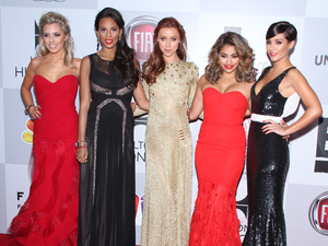 NBC Universal's 70th Annual Golden Globe Awards After Party - ArrivalsFeaturing: Mollie King, Rochelle Humes (Wiseman), Una Healy, Vanessa White, Frankie Sandford, The Saturdays Where: Los Angeles, California, United States When: 13 Jan 2013 Credit: Travis Wade/WENN.com
