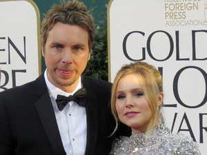 70th Annual Golden Globe Awards held at The Beverly Hilton Hotel, Beverly Hills, CaliforniaFeaturing: Dax Shepard and Kristen Bell Where: Beverly Hills, California, USA When: 13 Jan 2013 Credit:  LJT Images/WENN.com