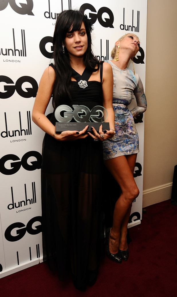 Kate Moss, Lilly Allen GQ Awards