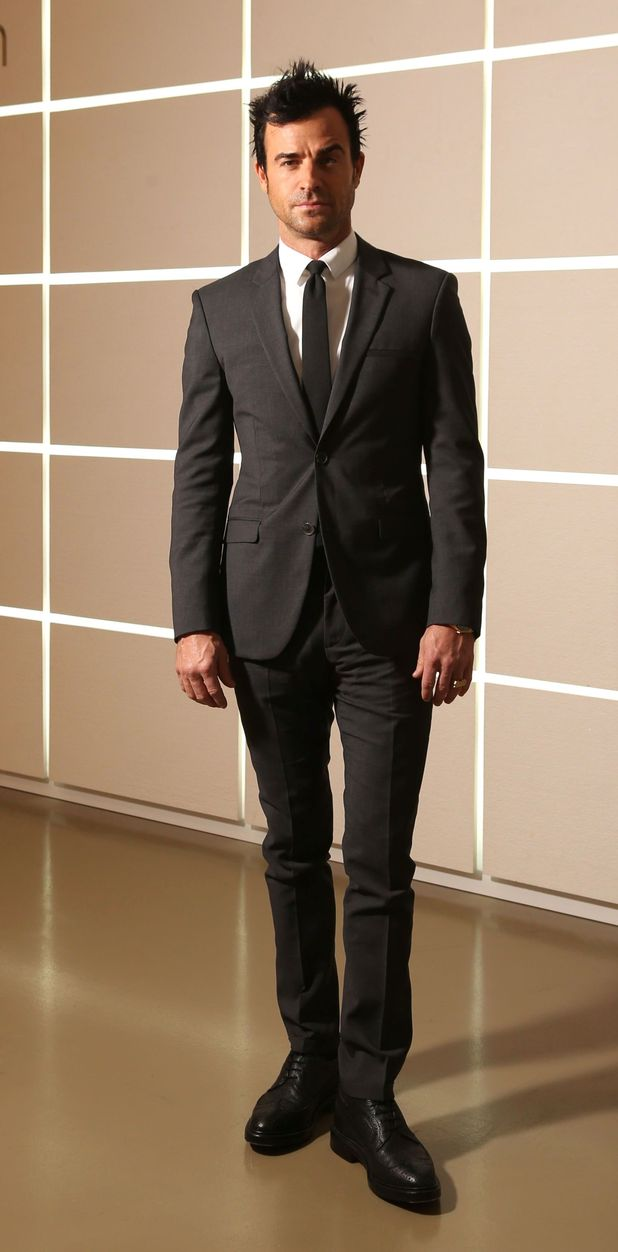 Justin Theroux, Calvin Klein fashion show, Milan Menswear Autumn/Winter Fashion Week, Italy