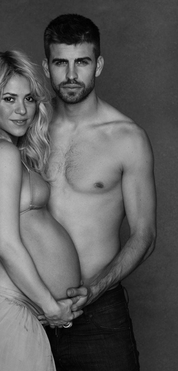 Shakira and boyfriend Gerard Piqué, UNICEF, January 2013
