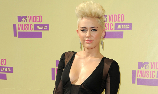 Miley Cyrus attends the MTV Video Music Awards in Los Angeles