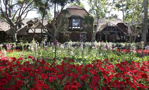 Michael Jackson's Neverland ranch (main house)