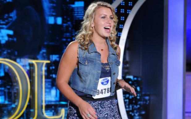 American Idol S12E01: Jessica Kartalis