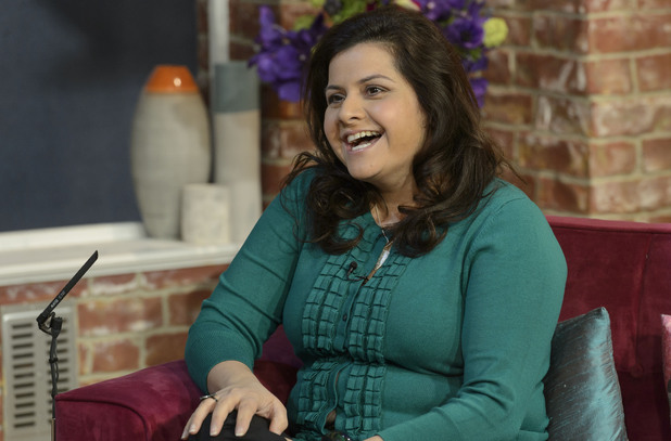 Nina Wadia appears on 'This Morning'