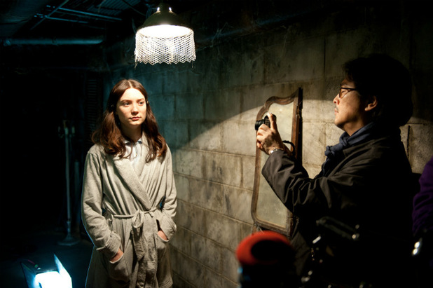 Chan Wook-Park and Mia Wasikowska