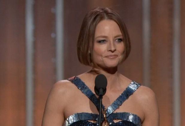 Jodie Foster came out as she accepted the Cecil B DeMille Award at Sunday night's Golden Globes